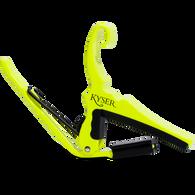 Kyser Quick-Change Capo 6-String, Neon Yellow