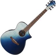 Ibanez AEWC32FM Acoustic-Electric Guitar - Indigo Sunset Fade
