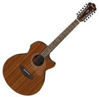 Ibanez AE2912 - Natural Low Gloss Acoustic Guitar
