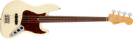 Fender American Professional II Jazz Bass® Fretless, Rosewood Fingerboard, Olympic White w. Deluxe Molded Case