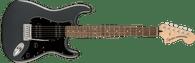 Fender Affinity Series™ Stratocaster® HH, Laurel Fingerboard, Black Pickguard, Charcoal Frost Metallic
