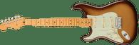 Fender  American Ultra Stratocaster® Left-Hand, Maple Fingerboard, Mocha Burst w/ Deluxe Hardshell case
