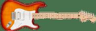 Fender Affinity Series™ Stratocaster® FMT HSS, Maple Fingerboard, White Pickguard, Sienna Sunburst