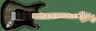 Fender Affinity Series™ Stratocaster® FMT HSS, Maple Fingerboard, Black Pickguard, Black Burst