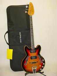 Vintage VOX Sidewinder IV 4-String Semi-Hollow Electric Bass - Previously Owned