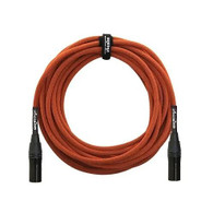 Orange Amps 20ft XLR-XLR Microphone Cable, Orange Jacket CA-XX-MIC-OR-20