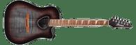 Ibanez Altstar ALT30FM Acoustic-Electric Guitar - Red Doom Burst High Gloss