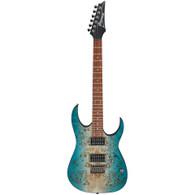 Ibanez Standard RG421PB Electric Guitar - Caribbean Shoreline Flat