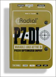 Radial PZ-DI Orchestral Instrument DI PZDI