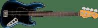 Fender American Professional II Jazz Bass® Fretless, Rosewood Fingerboard, Dark Night Deluxe Molded Case (Included)