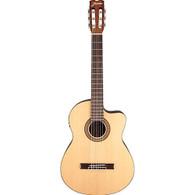 Jasmine JC-25CE Cutaway Classical Acoustic-Electric Guitar