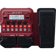 Zoom B1X Four Bass Multi-Effects Pedal with Expression Pedal