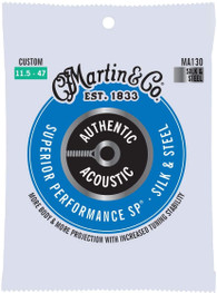 Martin Authentic Acoustic Superior Performance Guitar Strings - Silk and Steel