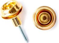 Dunlop SLS1404G Straplok Flush Mount Strap Retainer System, Gold