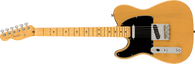 Fender American Professional II Telecaster® Left-Hand, Maple Fingerboard, Butterscotch Blonde w/ Deluxe Molded  Case