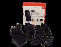 IK Multimedia iRig PRO I/O Portable Audio/ MIDI Interface - Previously Onwned