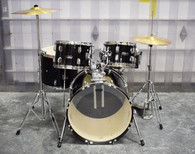Mapex Rebel 5-Piece Drum Set - Black - Previously Owned