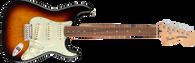Fender Deluxe Roadhouse Stratocaster®, Pau Ferro Fingerboard, 3-Color Sunburst with Deluxe Gig Bag (d)