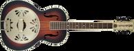 Gretsch G9240 Alligator Round-Neck, Mahogany Body  Biscuit Cone Resonator Guitar, 2-Color Sunburst