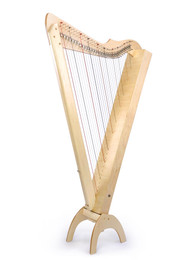 Rees Harps Grand Harpsicle Harp Maple - 33 strings, fully  levered with Pro Electric Pickup System