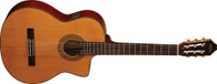 Washburn Classical Electric Guitar w/ Cutaway, Solid  Spruce Top and B-Band Electronics
