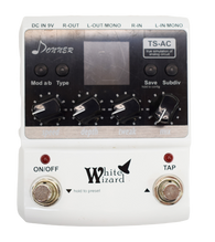 Donner White Wizard Multi Modulation Effect Pedal - Previously Owned