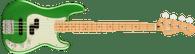 Fender Player Plus Precision Bass®, Maple Fingerboard, Cosmic Jade w. Deluxe Gigbag
