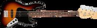 Fender  American Performer Jazz Bass®, Rosewood Fingerboard, 3-Color Sunburst w/ Deluxe Gigbag