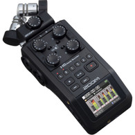 Zoom H6 All Black Handy Recorder with XYH-6 microphone capsule