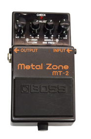 Boss MT-2 Metal Zone Distortion Effect Pedal - Previously Owned