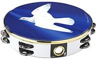 """Remo Religious TA-9210-18 10"""" Tambourine Dove"""