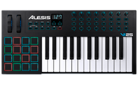 Alesis VI25 25-key USB Controller with 16-RGB Back Lit Pads, 8 knobs and 24 buttons. Includes Xpand!2 and Ableton Live Lite
