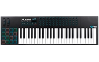 Alesis VI49 49-key USB Controller with 16-RGB Back Lit Pads, 8 knobs and 24 buttons. Includes Xpand!2 and Ableton Live Lite.