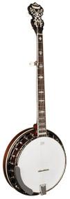 Morgan Monroe Duelington Deluxe Banjo w/ Ebony Fingerboard, Flamed