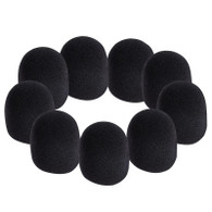 On Stage Black Windscreen (9-Pack)