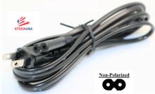 AC Power Cord, Non Polarized, NEW