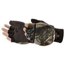 Manzella Hunter Convertible Glove - Realtree Xtra