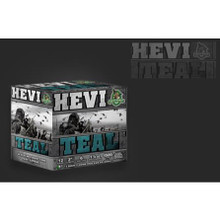 "HEVI-Shot Hevi Teal 12GA 2-3/4"" 1-1/8oz 6's Case"