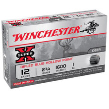"Winchester Super-X Rifled Slug 3"" 12GA - X123RS15"