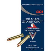 CCI Gamepoint - 22WMR - 40gr - 50CT
