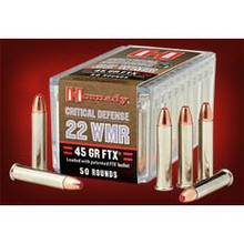 Hornady Critical Defense FTX - 22MAG - 45gr - 50CT