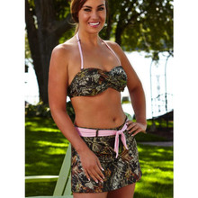 Wilderness Dreams Twisted Bandeau Mossy Oak Break-Up