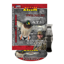 Zink ATM Polycarb Duck Call DVD Combo - Gunsmoke