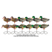 Avery GHG Pro-Grade Mallard Fullbody 1dz - Harvester with Flocked Drake Heads - 72217 - 700905722174