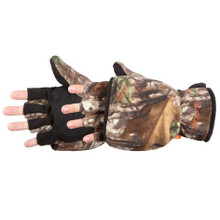 Manzella Bow Convertible Glove - Realtree Xtra