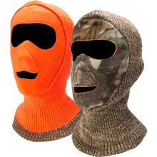 QuietWear Reversible Mask - Advantage Brown/Blaze