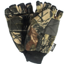 QuietWear Fleece Flip Mitten - Advantage Brown