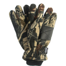 QuietWear Fleece Glove - Advantage Brown
