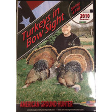 American Ground Hunter Turkeys In Bow Sight DVD