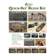 Avery Quick-Set Boat Blind Kit 14-16' - Bottomland